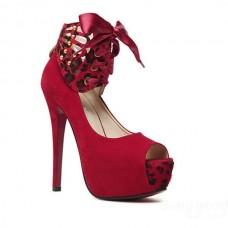Sexy Open Toe Platform Thin High-Heeled Shoes Women Sandals