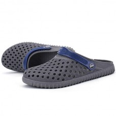 Men Hollow Out Beach Casual Slipper Sandals In Mesh